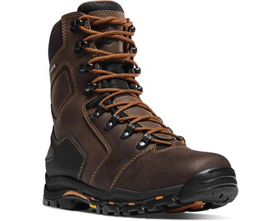 Danner 13868 Vicious 8 inch Non-Metallic Safety Toe Work Boots - Brown