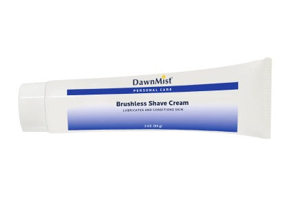 Dawn Mist BS85 Brushless Shave Cream 0.85 oz. Tube (Case)