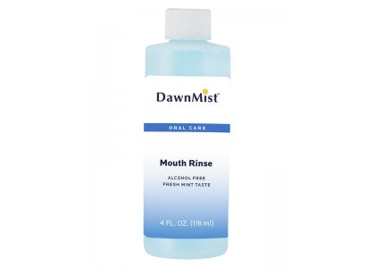 Dawn Mist MR3350-60 Mouth Rinse 4 oz. Bottle Alcohol Free (Case)