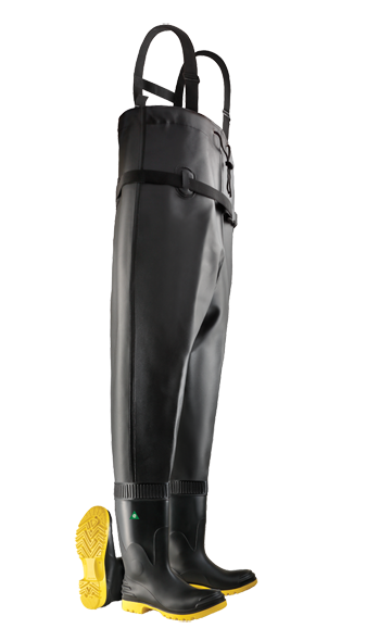 Dunlop 86867 Men's Steel Toe-Midsole Chest Wader