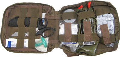 Elite First Aid FA200 Enhanced IFAK Individual First Aid Kit - Level 1
