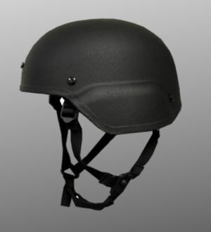 High Ground THRUST Ballistic ACH-MICH High Cut Helmet - Level IIIA with MILSPEC Padding