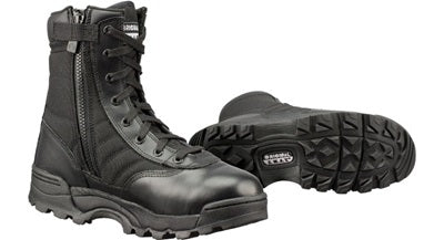 Original SWAT 1152 Classic 9 inch Duty Boots with Side Zipper