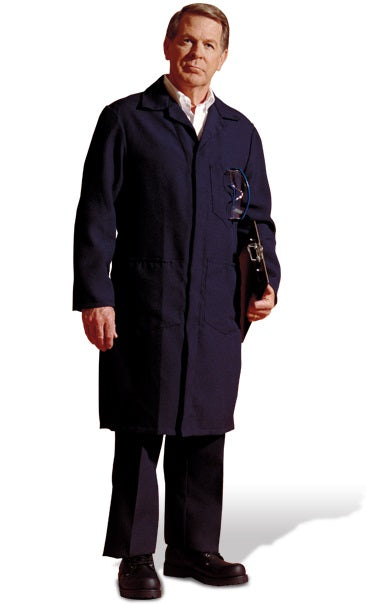 Topps Safety Apparel TC16 Nomex IIIA Flame Resistant Shop Coat (HRC 1 - 4.6 cal)
