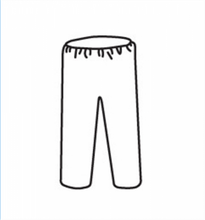 Load image into Gallery viewer, PosiWear M3 C3816 Disposable White Pants with Elastic Waist (Case)