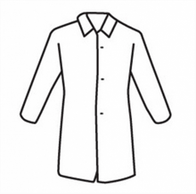 Load image into Gallery viewer, PosiWear M3 C3818 Disposable White Lab Coat without Pockets (Case)