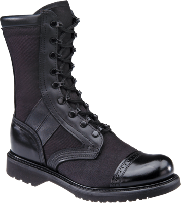 Corcoran 17146 Men's 10 inch Black Leather and Cordura Marauder Boots