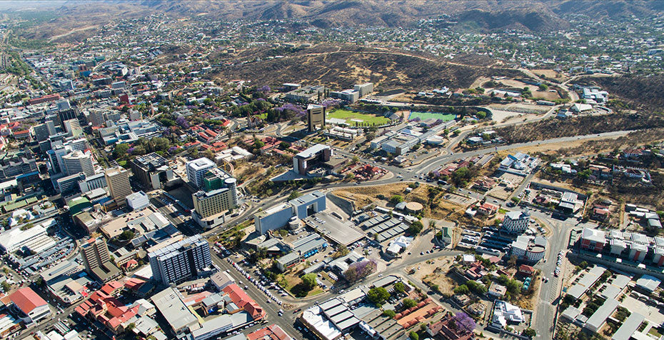 City of Windhoek, Capital of Namibia