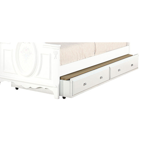Flora White Trundle (Twin) image