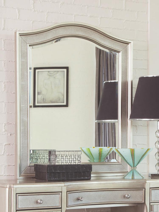 Bling Game Vanity Mirror With Arched Top image