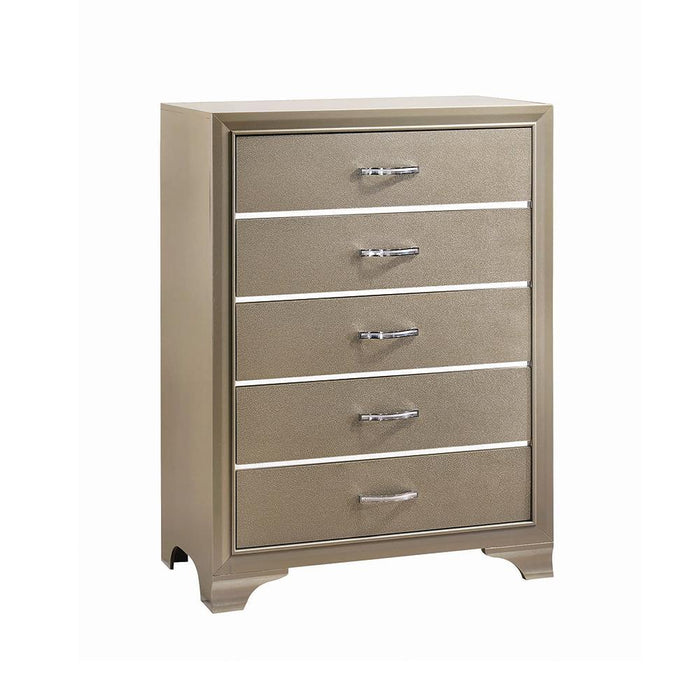 Beaumont Transitional Champagne Chest image