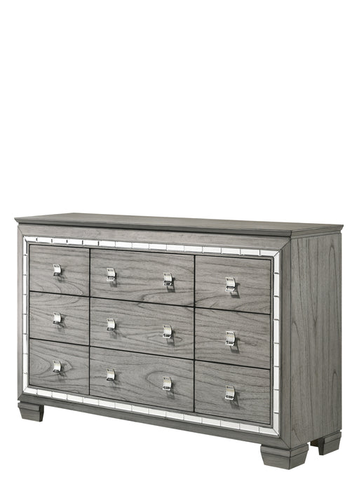 Antares Light Gray Oak Dresser image