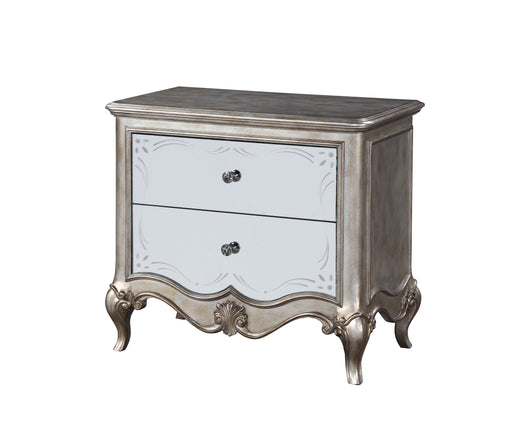 Esteban Antique Champagne Nightstand (2 Drw) image