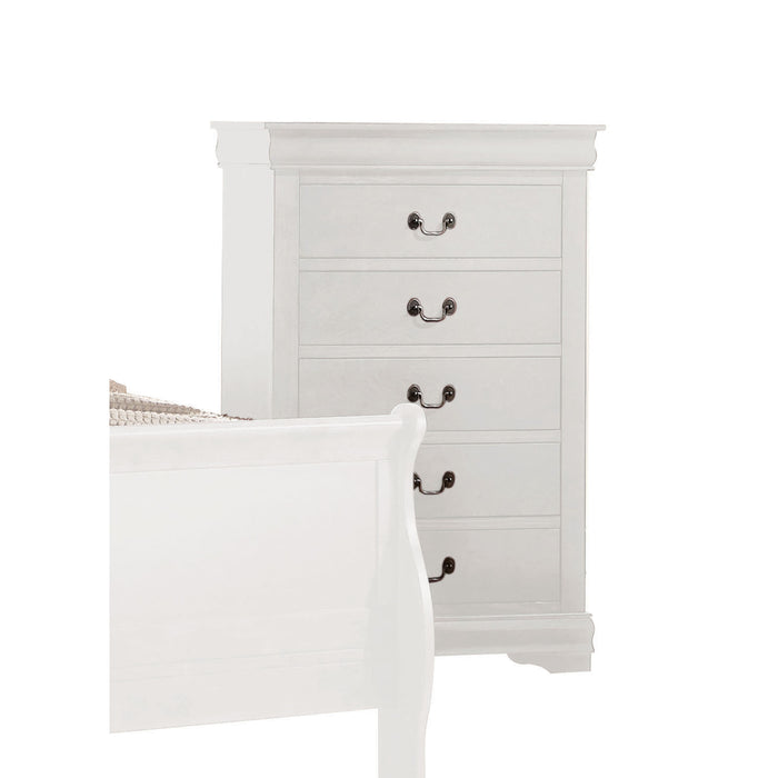 Louis Philippe White Chest image