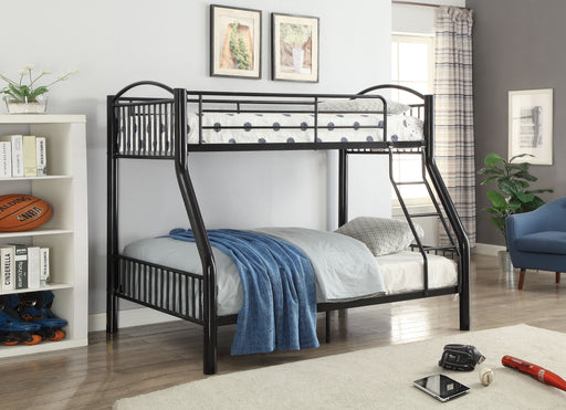 Cayelynn Black Bunk Bed (Twin/Full) image