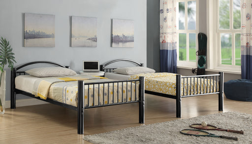 Cayelynn Black Bunk Bed (Twin/Twin) image