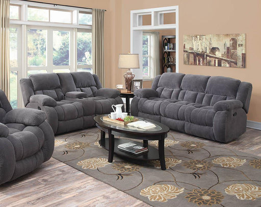 Weissman Grey Two-Piece Living Room Set image