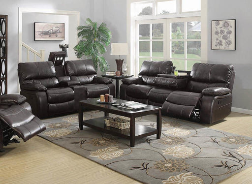 Willemse Chocolate Reclining Two-Piece Living Room Set image