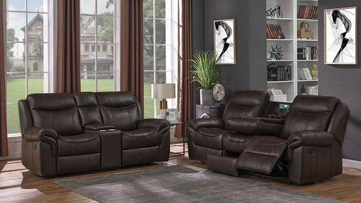 Sawyer Transitional Brown Two-Piece Living Room Set image