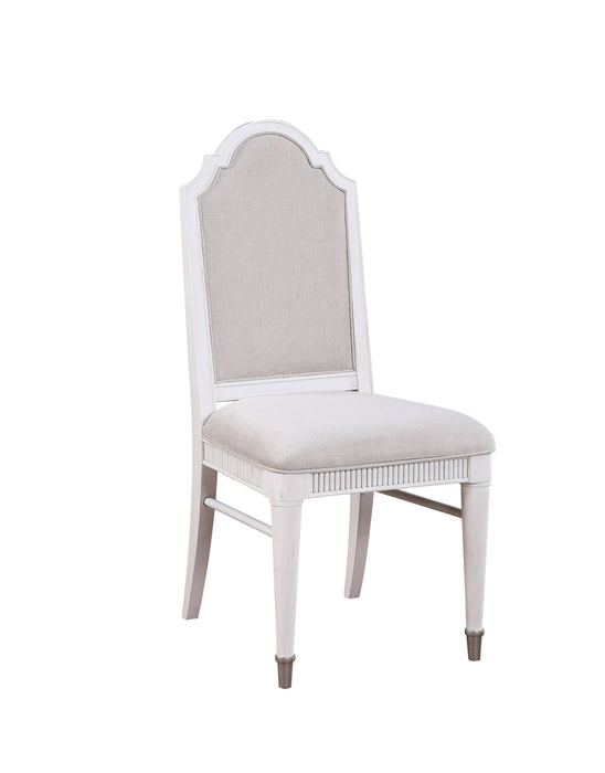 Celestia Fabric & Off White Side Chair image