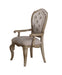 Chelmsford Beige Fabric & Antique Taupe Arm Chair image