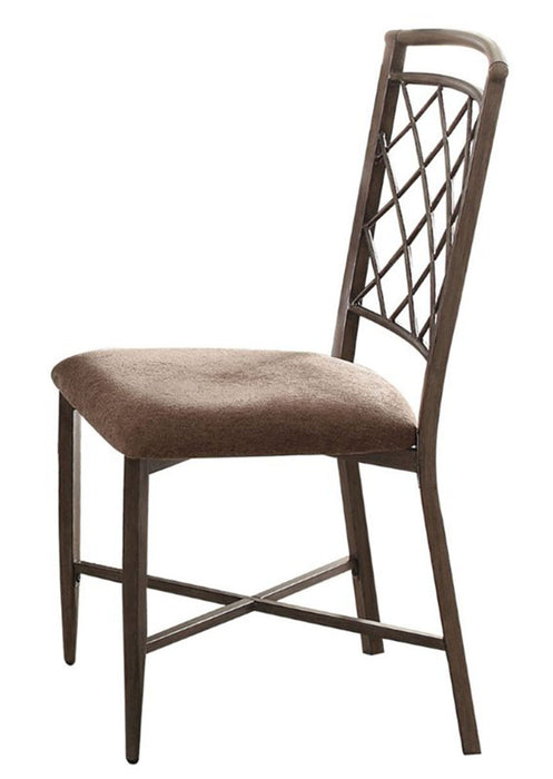 Acme Furniture Aldric Side Chair in Antique (Set of 2) 73002 image