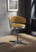 Brancaster Turmeric Top Grain Leather & Chrome Adjustable Chair w/Swivel image