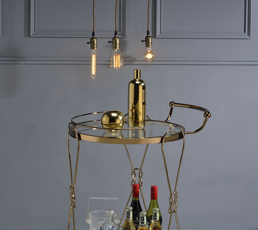 Zekera Champagne Serving Cart image