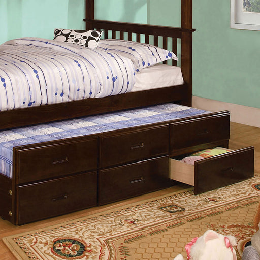University I Dark Walnut Trundle (3 Drawers) image