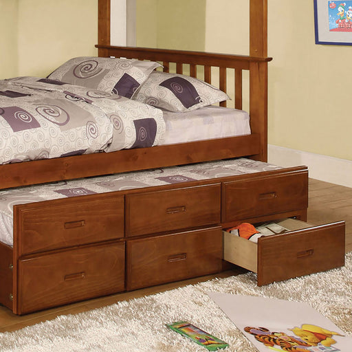 University I Oak Trundle w/ 3 Drawers image