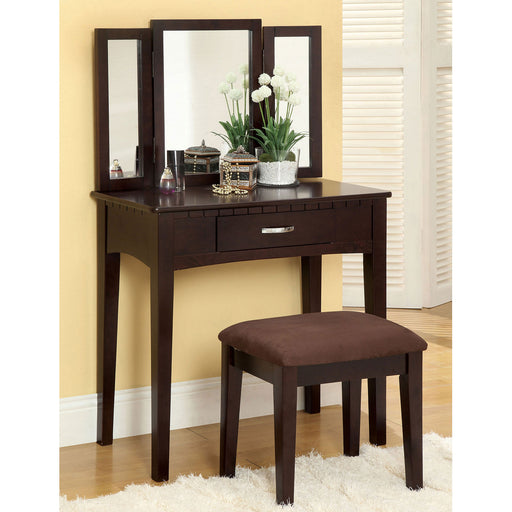 Potterville Espresso Vanity Table image