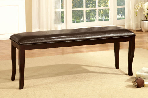 Woodside Dark Cherry/Espresso Bench image