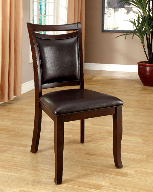 Woodside Dark Cherry/Espresso Side Chair (2/CTN) image