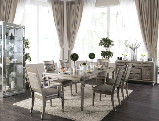 Xandra Champagne 7 Pc. Dining Table Set (2AC+4SC) image