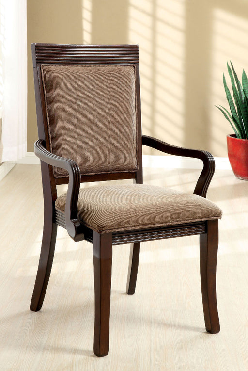 Woodmont Walnut/Brown Arm Chair (2/CTN) image