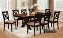 Liberta Dark Oak/Black 7 Pc. Dining Table Set image