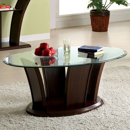MANHATTAN IV Brown Cherry Coffee Table, Brown Cherry image