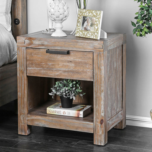 Wynton Weathered Light Oak Night Stand image