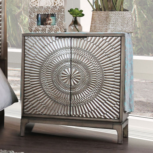 Kamalah Antique Gray Night Stand image