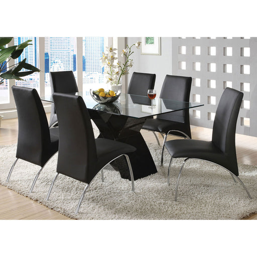 Wailoa Black 7 Pc. Dining Table Set image