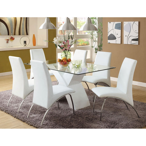 Wailoa White 7 Pc. Dining Table Set image