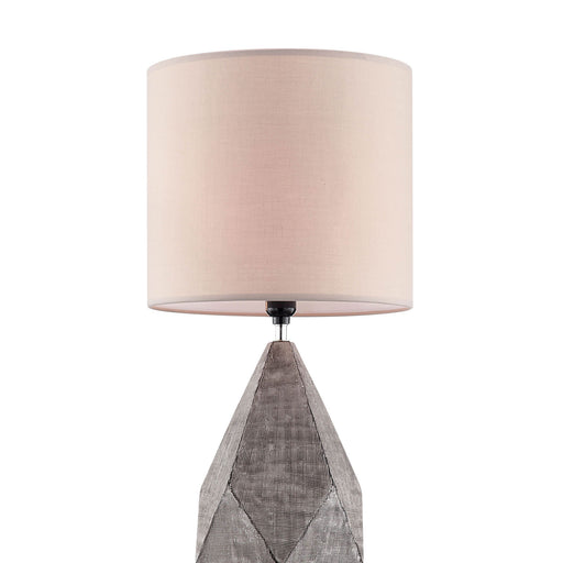 Zoe Silver Table Lamp image