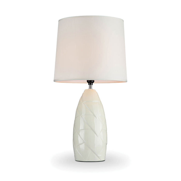 Lois Ivory Table Lamp image