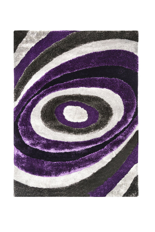 Winnipeg Gray/Purple 5' X 8' Area Rug image