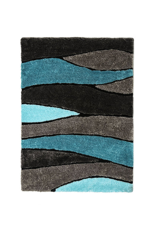 Winnipeg Gray/Blue 5' X 8' Area Rug image