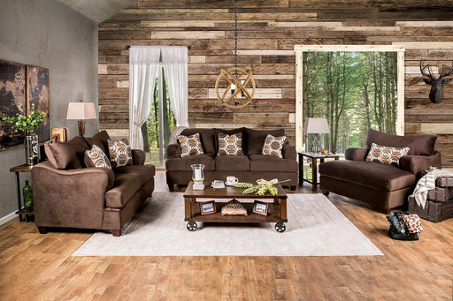 WESSINGTON Chocolate Sofa + Love Seat image