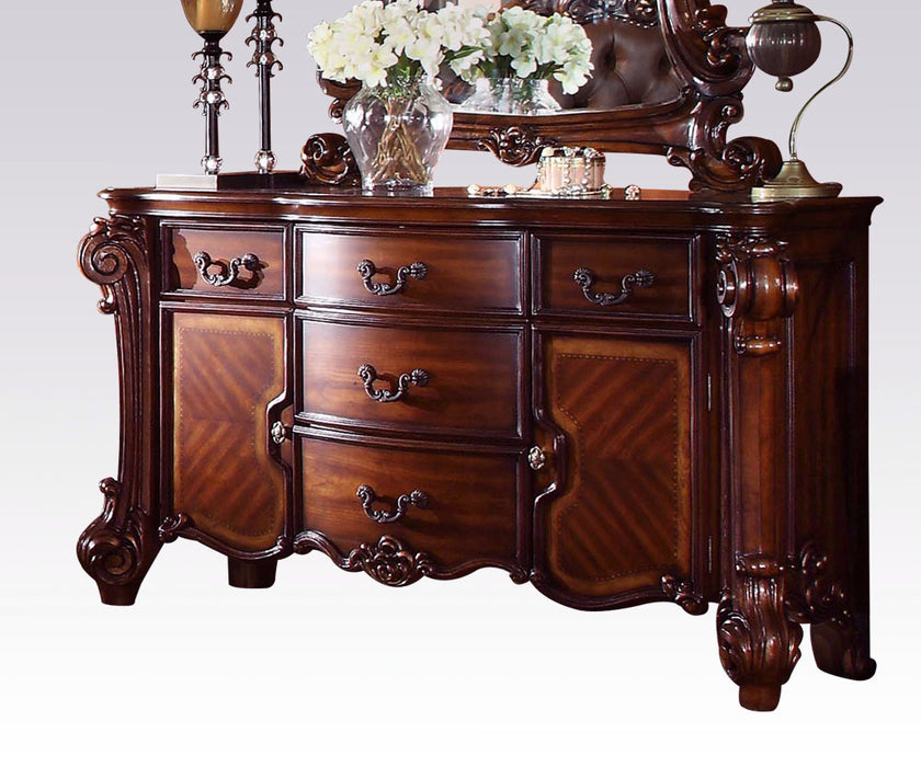 Acme Vendome Traditional Dresser/Server with Four Drawers and Two Doors in Cherry 22005 image