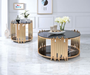 Acme Furniture Tanquin End Table in Gold/Black 84492 image