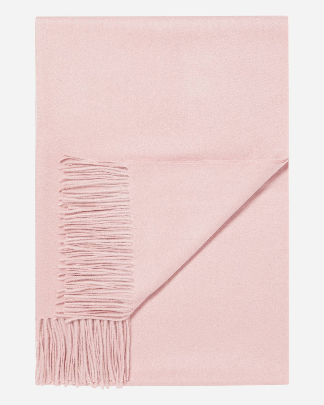 Woven Cashmere Shawl Faded Pink