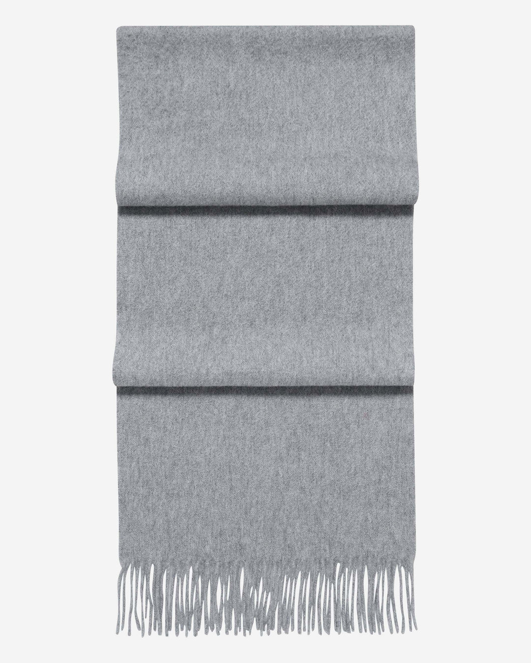 Woven Cashmere Scarf Flannel Grey